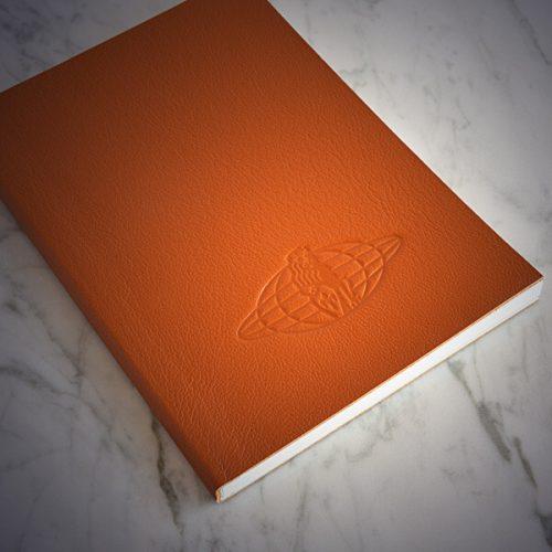Quotus cartoleria di lusso - Quaderno in pelle personalizzato con logo