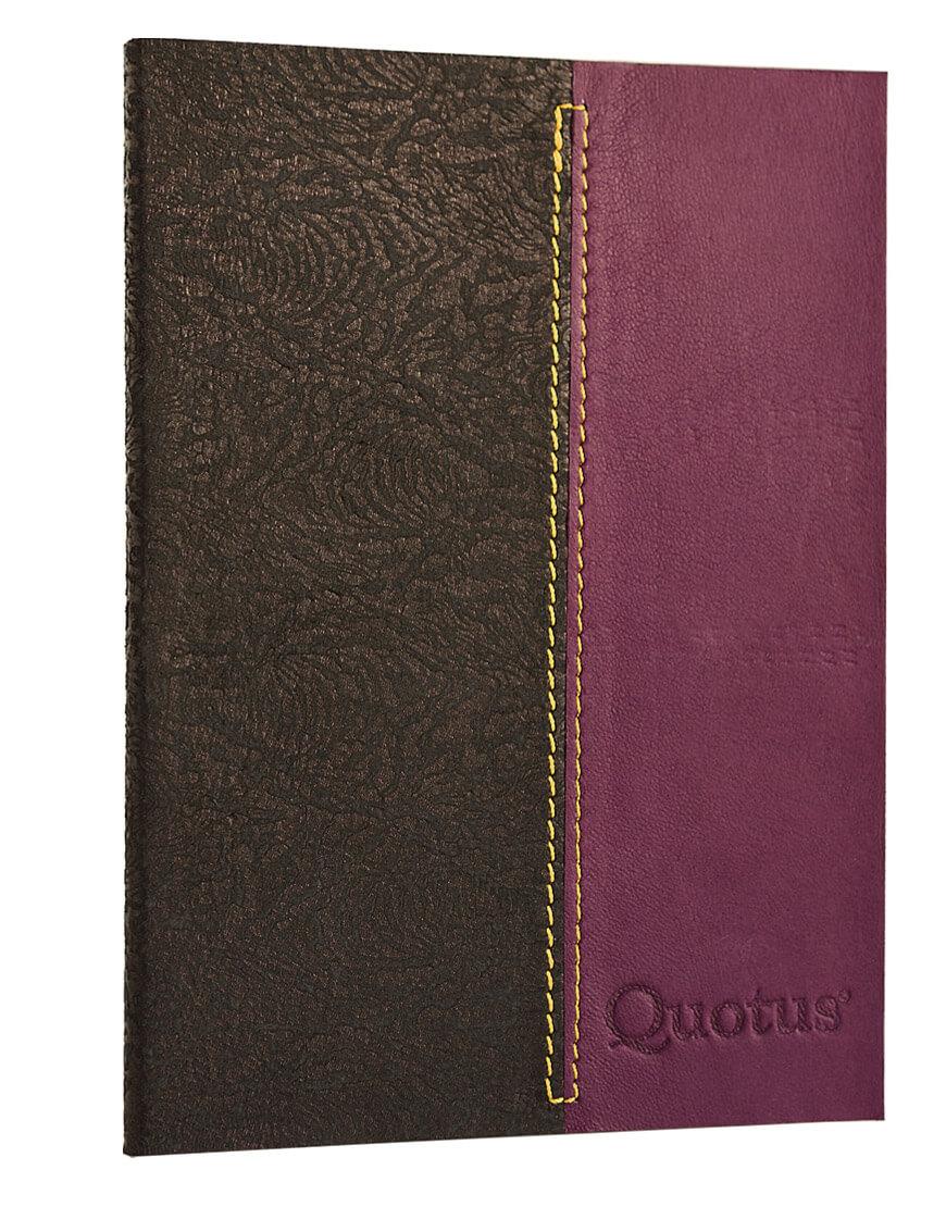 Quotus - Satura Fashion Diary 349 lined