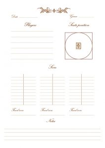 Quotus - Internal page Card Games notebook
