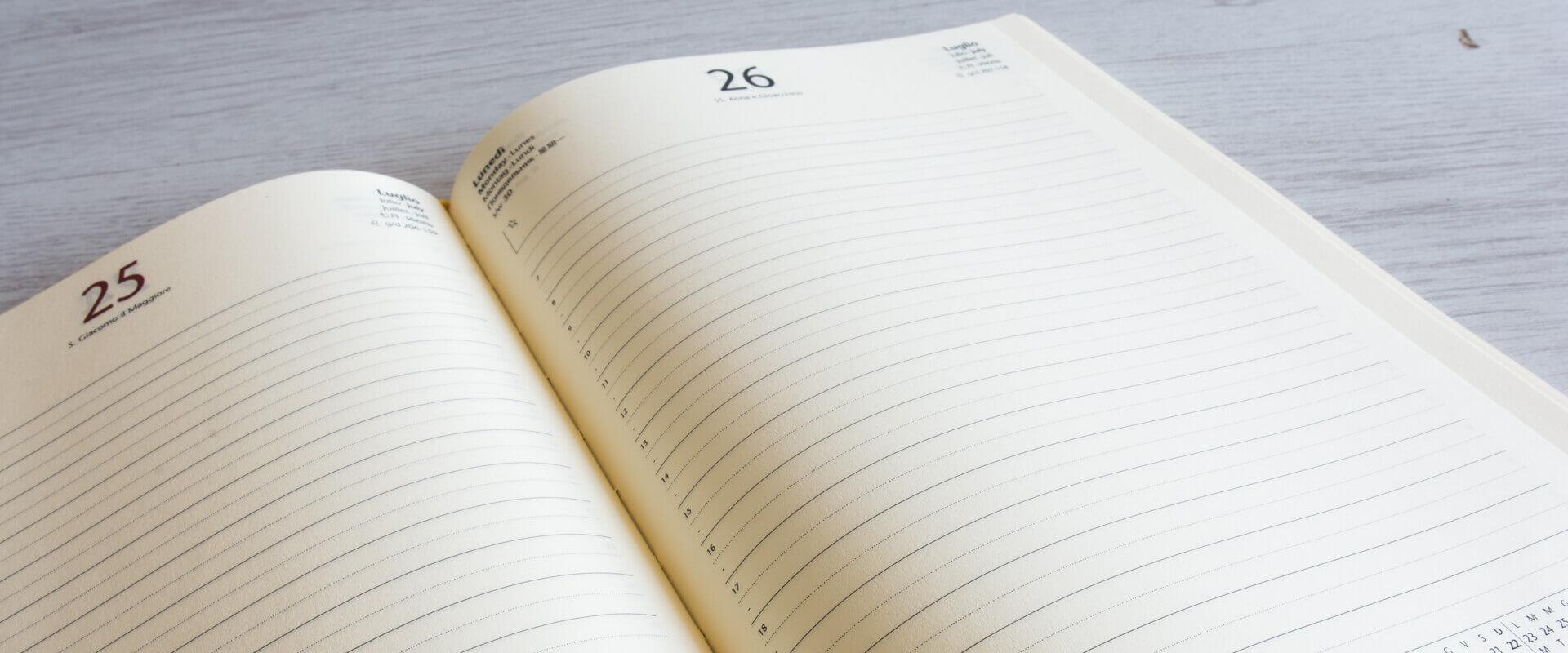 interno agenda giornaliera 2021