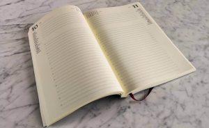 agenda in pelle 2020 da scrivania