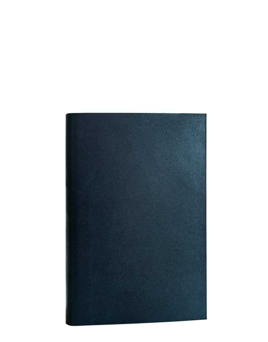 agenda tascabile blu 2020 in pelle vegetale