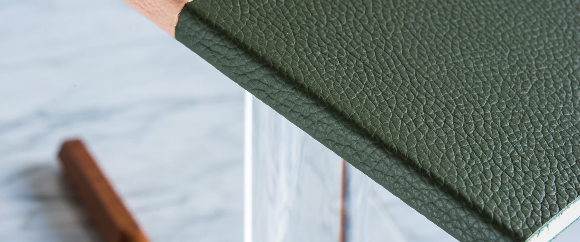 quadernetto tascabile in pelle