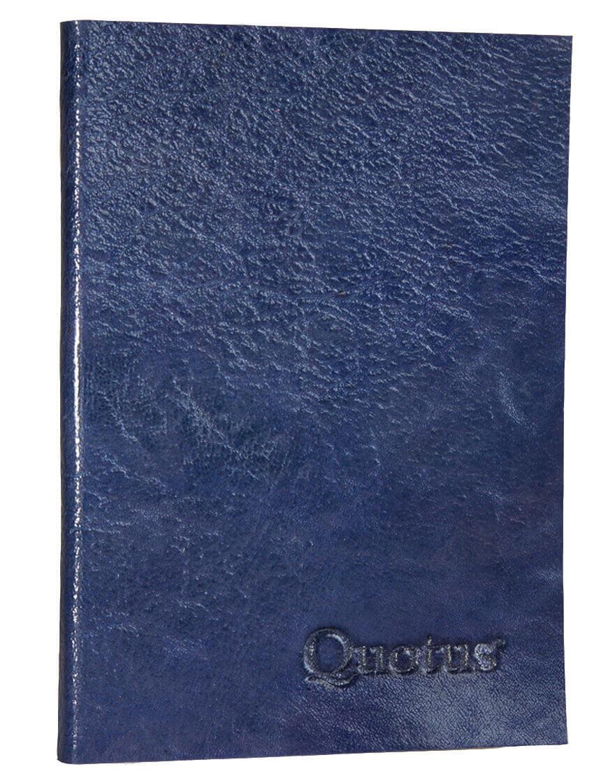 quadernetto tascabile pelle vegetale